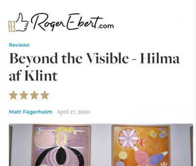 Beyond the Visible Hilma af Klint